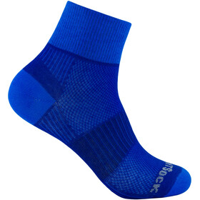 Wrightsock Coolmesh II Quarter Calze, royal-blue